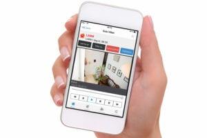 Kameralarm med intelligent videoanalys