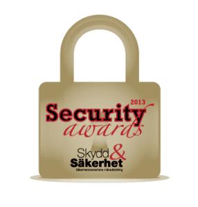 Security Awards 2013 vinnare