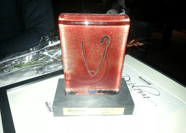 Security Awards bucklan