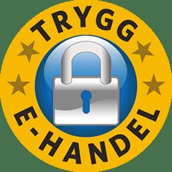 Gardio är certifierad av Trygg e-Handel
