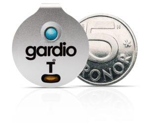 Gardio T liten som en femkrona